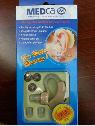 Audífonos-amplificador de sonidos marca medca