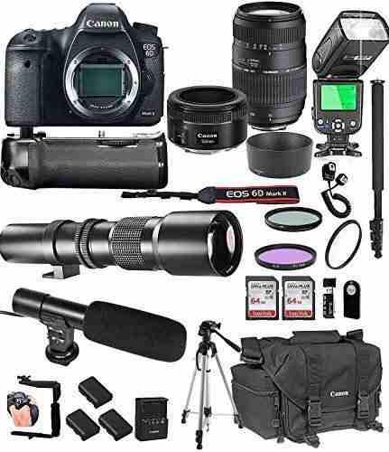 Canon eo mark in stm tamron di ld telephoto gb memoria