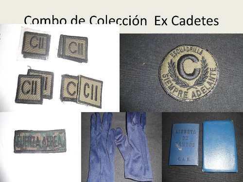 Coleccion de accesorios ex cadete, leer