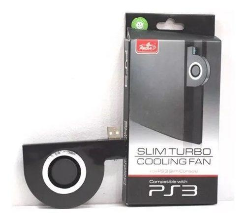 Fan cooler externo ps3 turbo para consolas slim