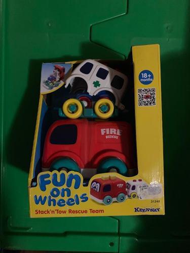Juguete para bebés 18 meses o más fun on wheels