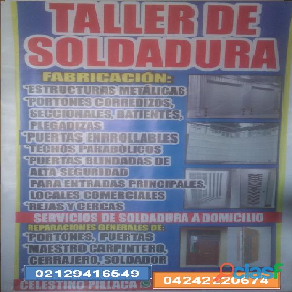TALLER DE SOLDADURA MULTISERVICIOS PIZAK 2028 C.A