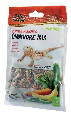 Alimento para dragones barbudos tortuga zilla 19,8 gr x 2 un
