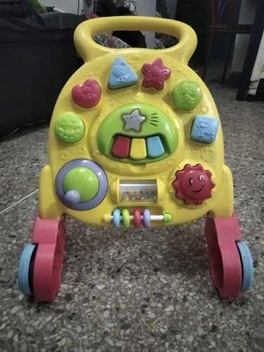 Andadera multifuncional para bebes con música
