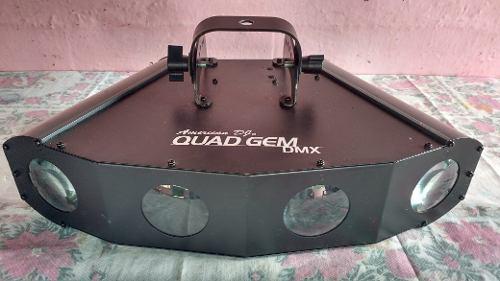 Luz de led american dj quad gem dmx