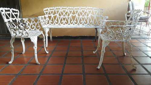 Muebles para jardin o terraza de aluminio