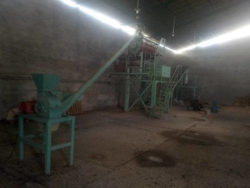 Planta de alimento animal aba.2500.kg/h con peletizadora