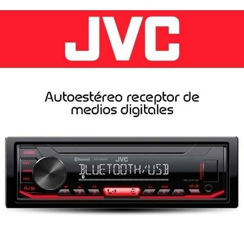 Radio reproductor jvc multimedia spotify bluetooth 75vdrs