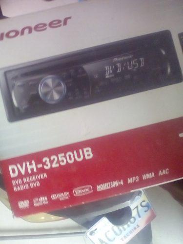 Reproductor de sonido para carro. pioner dvh 3250 ub