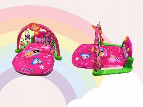 Baby gym gimnasio musical con sonido y luces nuevo