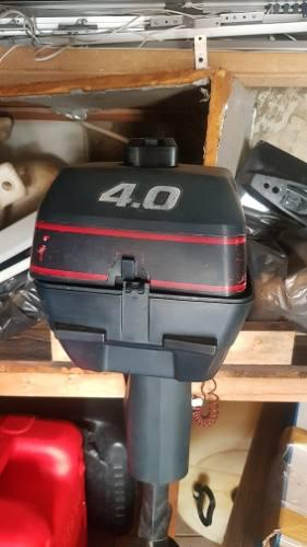 Motor de bote inflable yamaha evinrude 4.5 hp