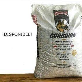 Alimento para animales (perrarina) guardian