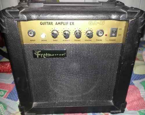 Amplificador de guitarra electrica fretmaster ga-15