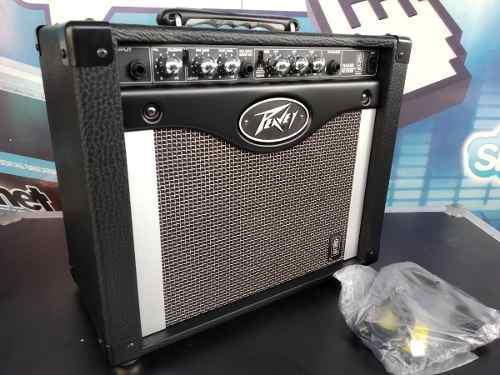 Amplificador para guitarra 8 pulgadas 50w rage 258 peavey