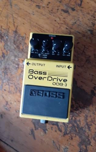 Boss odb3 bass overdrive..