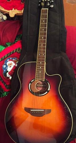 Guitarra electro acústica yamaha apx 500 ii (200* v)