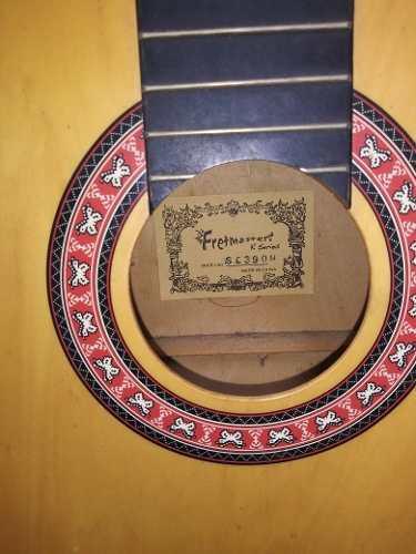 Guitarra fretmaster modelo sc390n