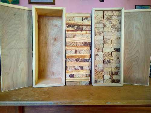 Jenga juego madera pino oferta obsequio regalo original