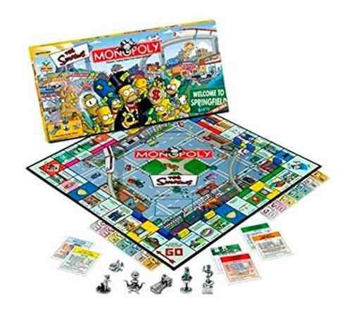 Juego de mesa monopoly edición simpsons