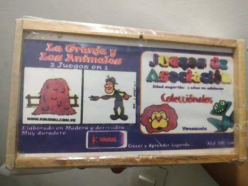 Juegos didacticos (juegos de asociacion)