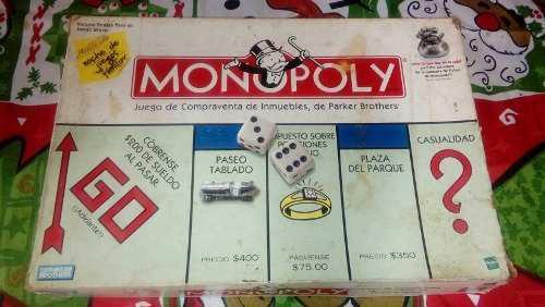 Monopolio juego de mesa usado