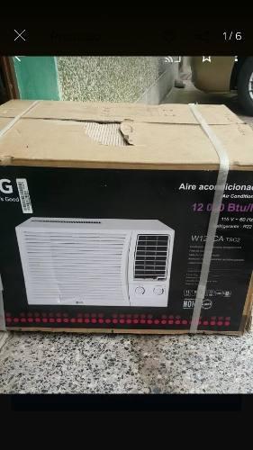 Aire acondicionado lg de ventana nuevo 12mil btu. 290.