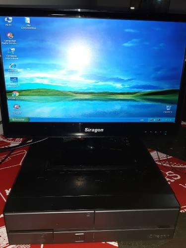 Computadora de escritorio siragon, cpu y monitor oferta 80vd