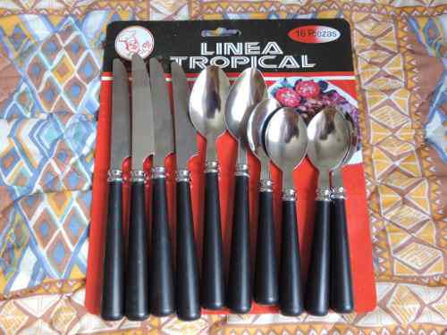 Cubiertos magefesa cucharas y cuchillos 10 piezas