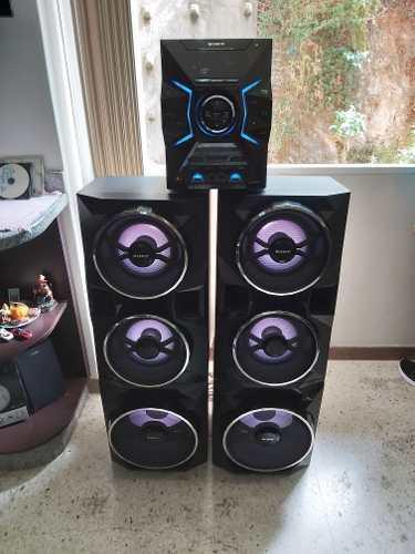 Equipo de sonido sony como nuevo con bluetooth 24200 p.m.p.o