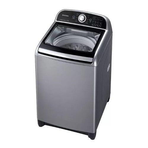 Lavadora automática daewoo dwfh380rg 19 kg gris tienda f