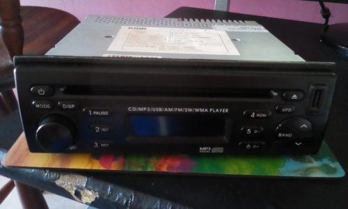 Reproductor cd mp3 de turpial original 20 v-e-r-d-e-s