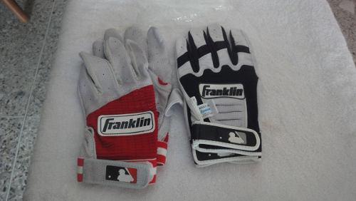 Guantines de beisbol marca franklin