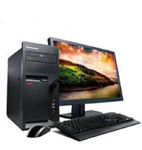 Pc cpu computadora escritorio lenovo intel 2gb ram 148 disco
