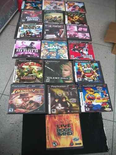 Play 2 juegos pack de 5 cds