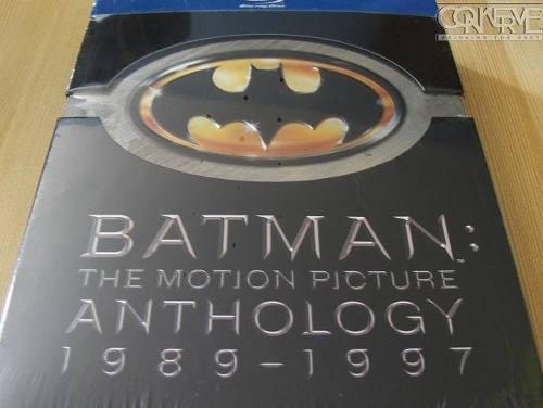 Batman the motion picture anthology 1989-1997 bluray box set