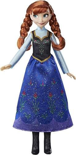 Muñeca frozen princesas disney ana juguete hasbro original