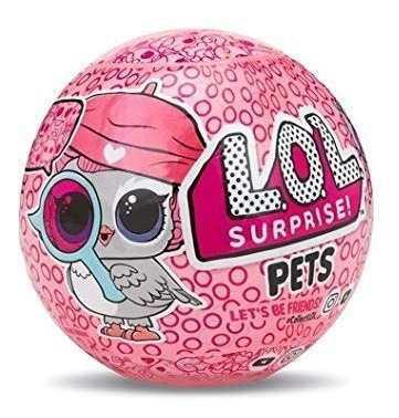 Muñeca lol surprise mascota pets serie 4 original 7pzs