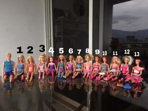 Muñecas barbie originales (precios en la descripción)