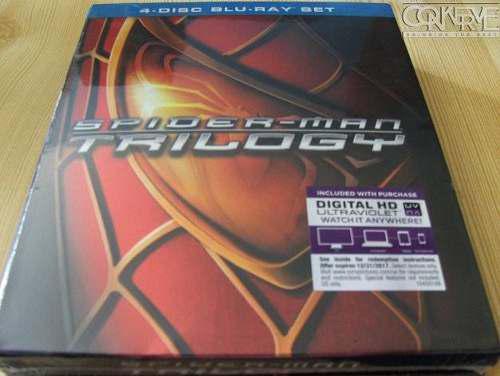 Spider-man trilogía bluray box set original nuevo y sellado