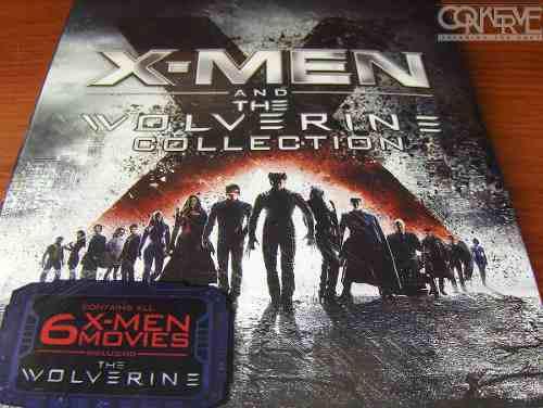 X-men y wolverine collection bluray box set original sellado
