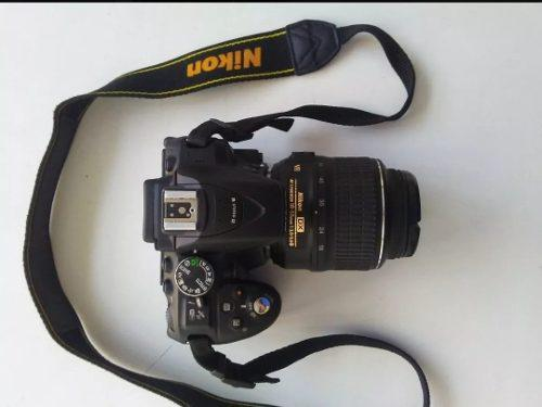 Camara nikon d5300 wifi gps con flash forro memoria sd 64gb