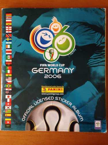 Album barajitas panini germany completo 2006. oferta!!