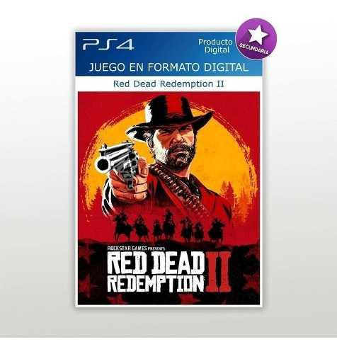 Red dead redemption 2 digital ps4