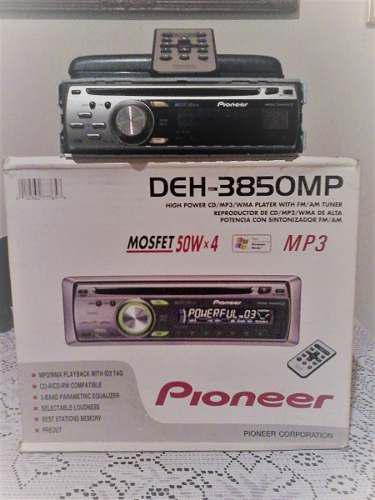 Reproductor pioneer deh 3850mp más cornetas bohem 560w