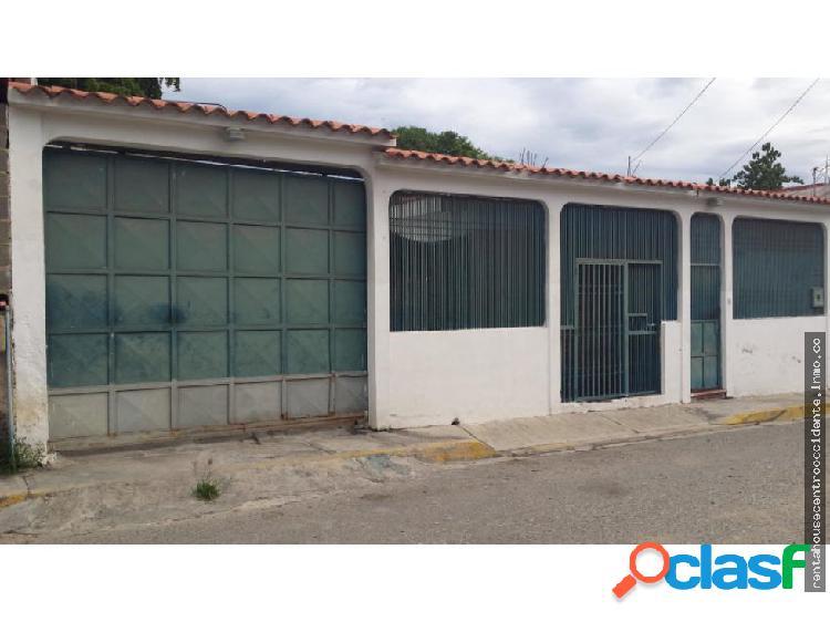 Casa en venta nueva paz barquisimeto rahco