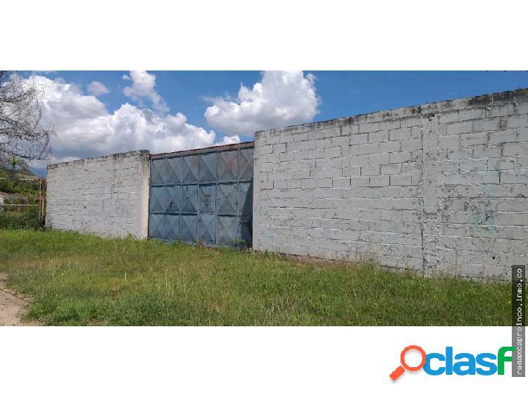 Terreno + proyecto de centro comercial en guacara
