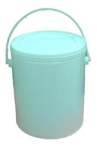 3 potes, envases de plástico de 1 galon para pinturas, etc