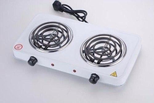 Cocina electrica portatil dos hornillas 110v 2000w caracas