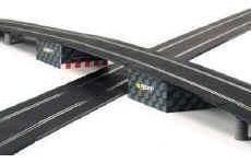 Puente para pistas scalextric escala 1/32. nuevas!