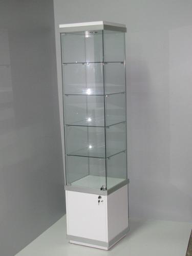 Vitrina con iluminacion para tiendas y oficinas 350